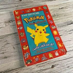 Vintage Official Pokémon Handbook